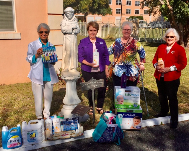 PBG Woman's Club donations